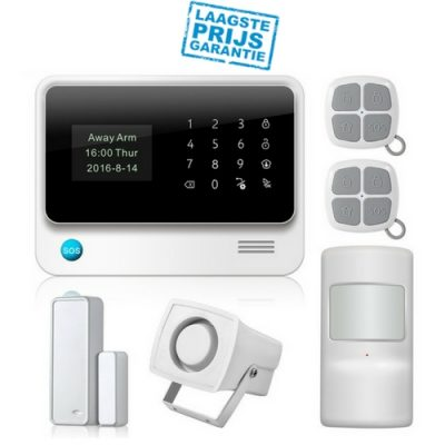 Starterskit Alarmsysteem + IP HD Camera