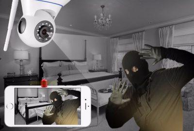 IP Draadloos beveiligigingscamera