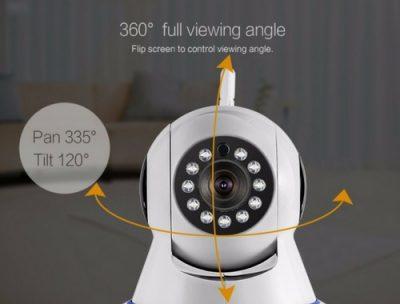 Huisalarmsysteem beveiligingscamera