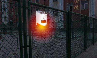 Solar buitenalarm met sensor