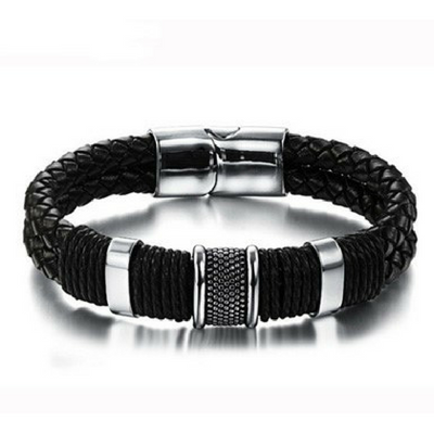 Inheemse Lederen Armband