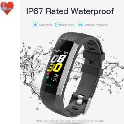 Fitnesstracker met hartslagmeter