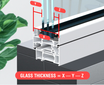 Verstelbare magnetische ruiteneiniger dubbelglas