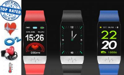 Activity tracker temperatuurmeter, hartslagmeter, bloeddrukmeter, zuurstofmeter