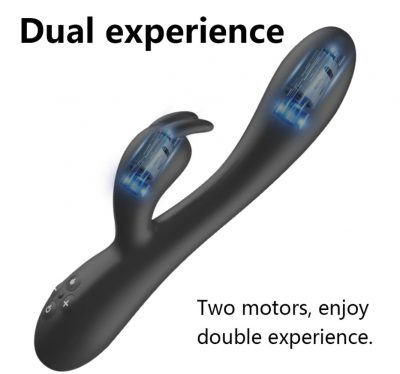 Dubbele verwarming vibrator