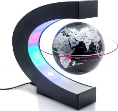 magnetische zwevende werelldbol met led verlichting