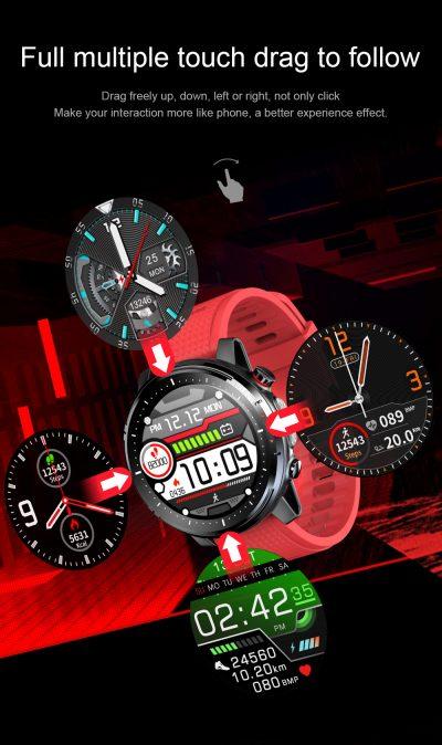 GPS-hardloopwatches, GPS horloge voor het hardlopen